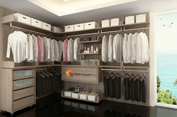 ตู้เสื้อผ้าบิวอิน ตู้เสื้อผ้า Walk In Closet By จี ราฟ
